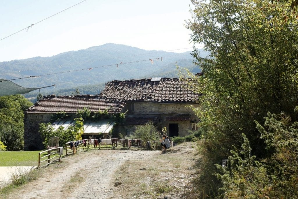 Italy Yoga Retreat with Ramila in June 2017-Casalino a old farmhouse situated in the east of Tuscany.