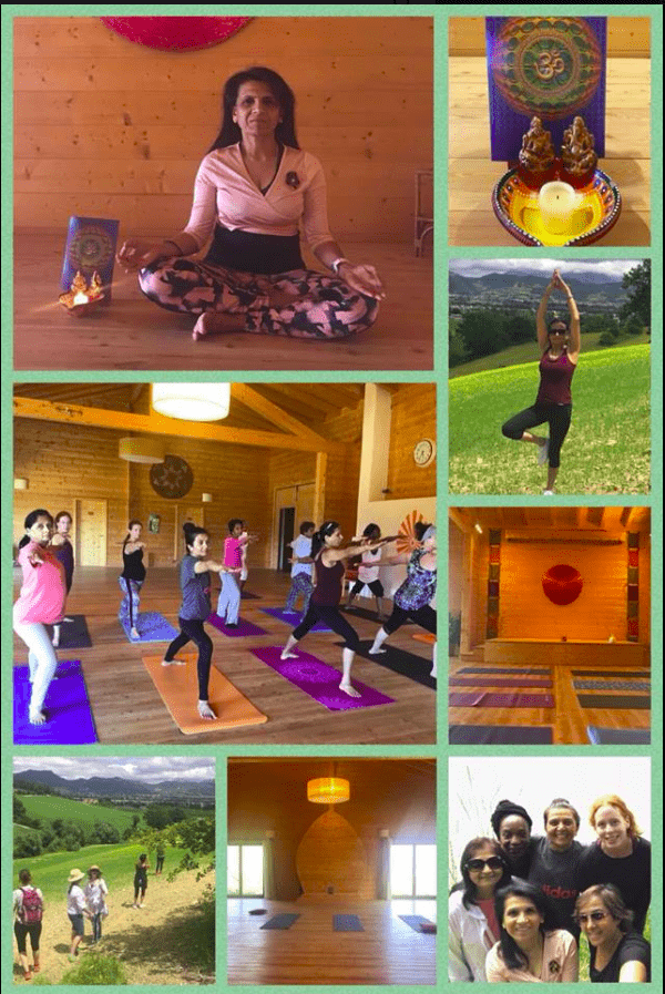 yoga retreat to revive italy 2018